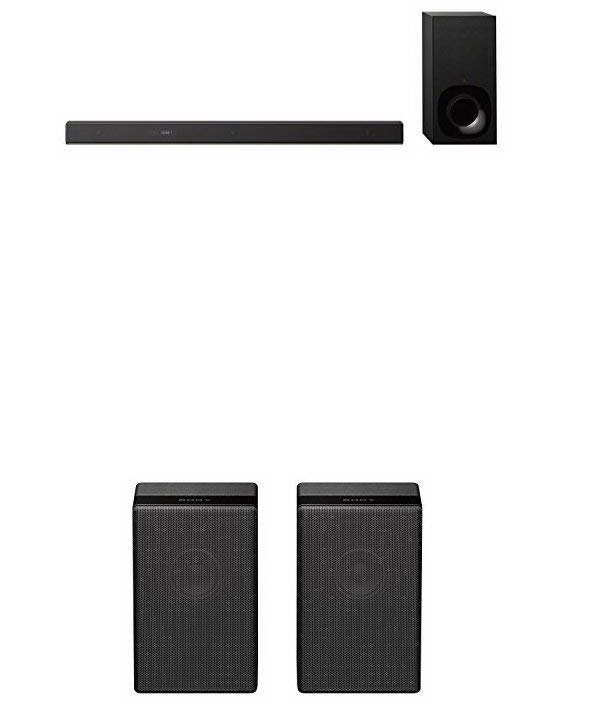 Sony Sound Bar with Rear Speakers: HT-Z9F + Z9R x2