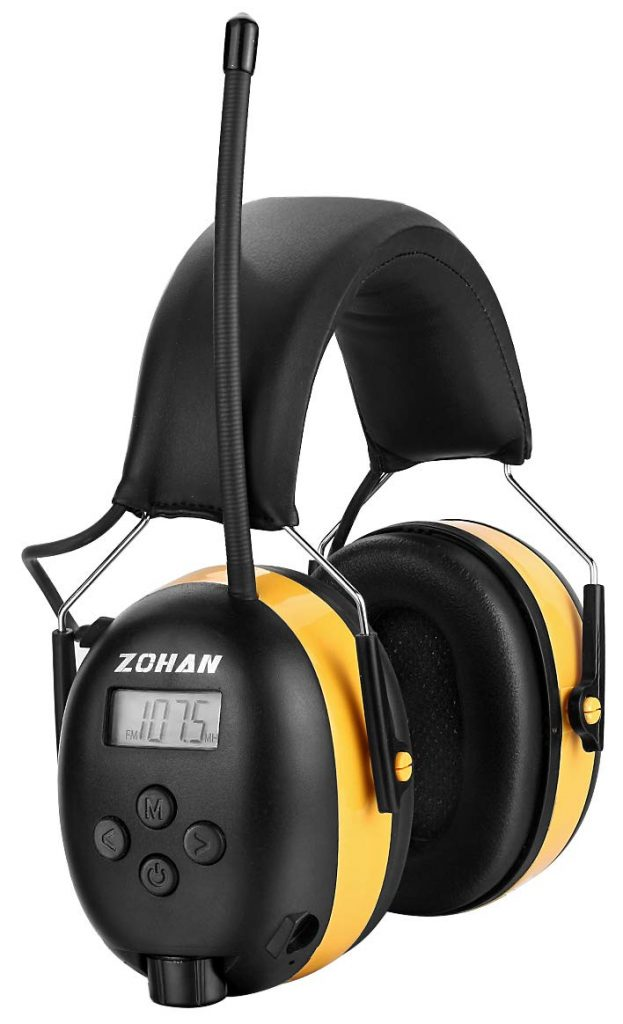 ZOHAN Digital AM/FM Radio Headphones