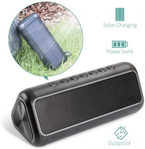 Elzle Portable Outdoor Bluetooth Speaker