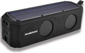NUNET Nuboom Solar-Powered Speaker