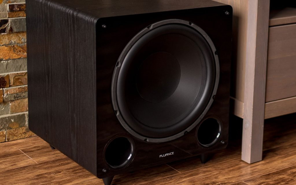 Placing the subwoofer directly on the floor may cause some unwanted vibrations